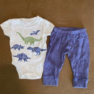 Baby boy outfit bundle size 0/3 months